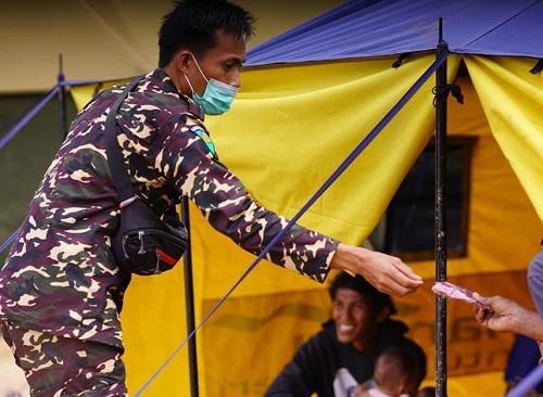 Bantu Korban Bencana, Banser Tetap Prioritaskan Protokol Kesehatan
