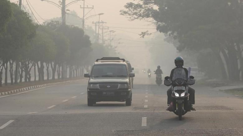 Prihatin Kabut Asap, MUI Kalbar Berencana Gelar Shalat Istisqa' Sabtu Mendatang