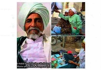 Al-'Arifbillah Habib Husein, Penjual Kitab yang Ternyata Waliyullah