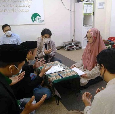 Alhamdulillah, Perempuan Jepang Ini Berikrar Masuk Islam