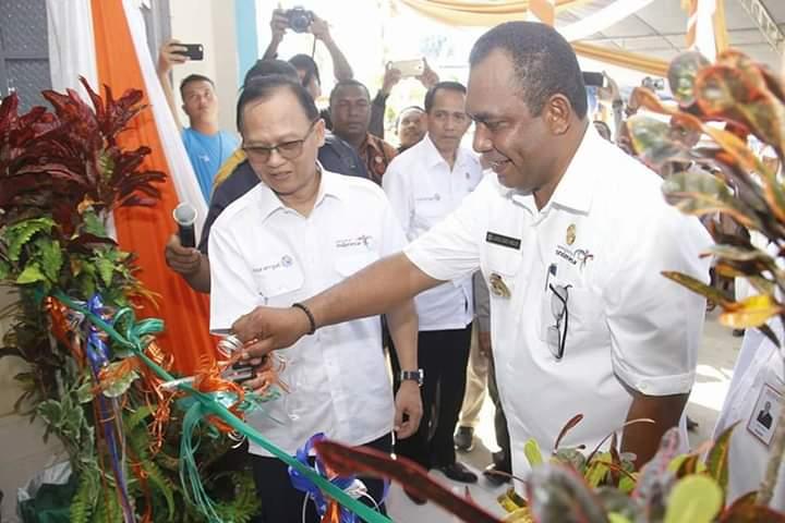 Dipimpin Oleh Bupati AFU Pertumbuhan Ekonomi Kabupaten Raja Ampat Meningkat