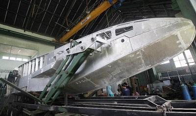 Dosen ITS Surabaya Ciptakan Kapal Perang Canggih Bisa Berubah 3 Mode
