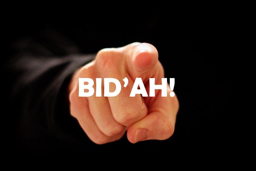 Kata Syekh Muhammad Bin Abdul Wahab tentang Bid'ah