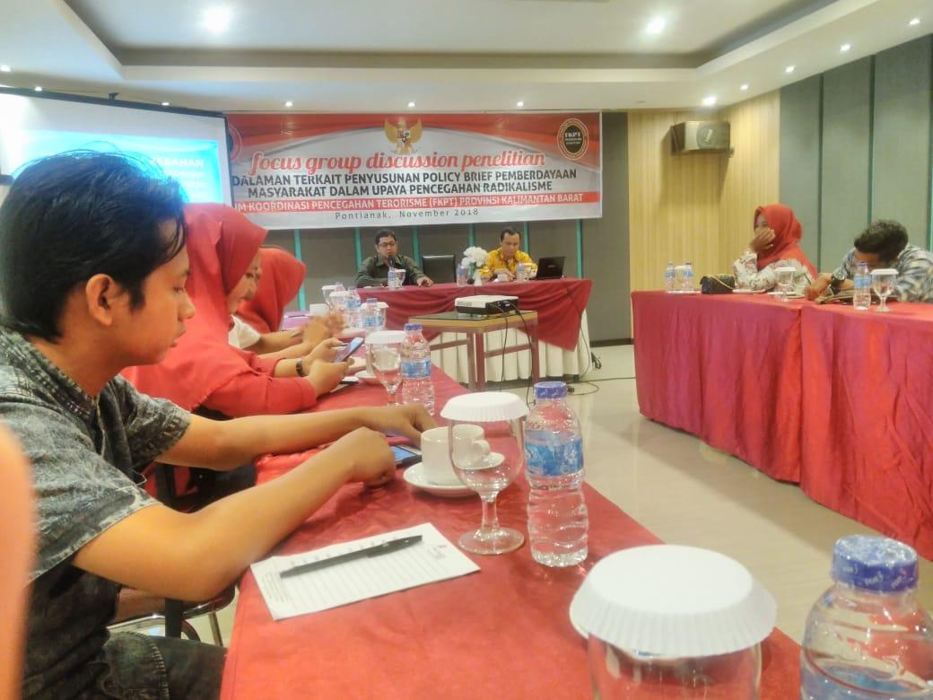 FKPT Kalbar Gelar FGD Pencegahan Radikalisme