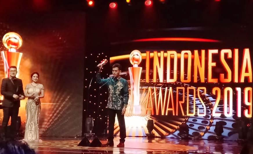 Deputi Kemenpora Raih Penghargaan Indonesia Award 2019