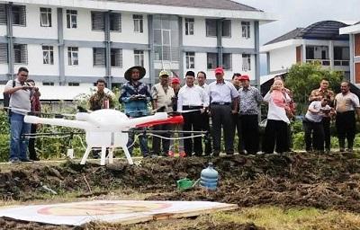 Dosen UMM Buat 3 Drone Pertanian yang Bisa Jangkau Lahan Hingga 700 Hektar