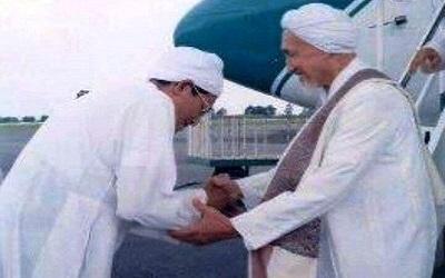 Pertemuan Dua Mutiara Ilmu, Abah Guru Sekumpul dan Habib Anis Al-Habsyi