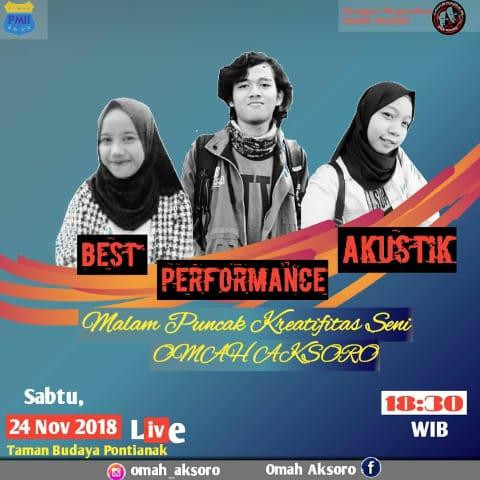 Malam Puncak Kreativitas Seni bersama Omah AKsoro 2018