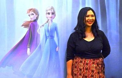 Terungkap, Kostum Anna di Film Frozen 2 Adalah Karya Desainer Indonesia