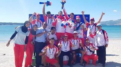 Raih 65 Emas, Indonesia Mantapkan Posisi Kedua Klasemen SEA Games 2019