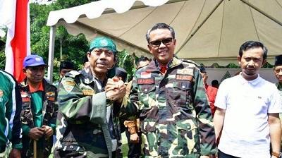 Gubernur Sulawesi Selatan Resmi Jadi Anggota Banser