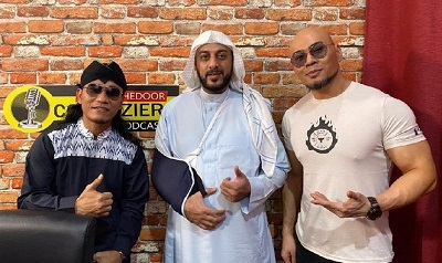 Syekh Ali Jaber Merasa Lebih Nyaman Dikawal Banser