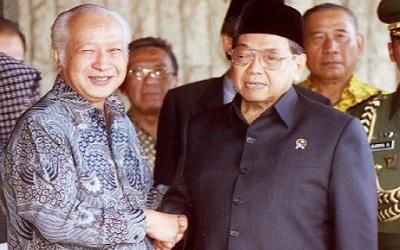 Soeharto Ikuti NU, Ini Alasannya Menurut Gus Dur