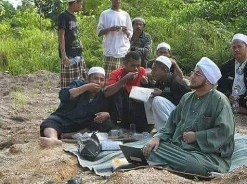 Habib Munzir Pernah Menangis Malu karena Seorang Biarawati