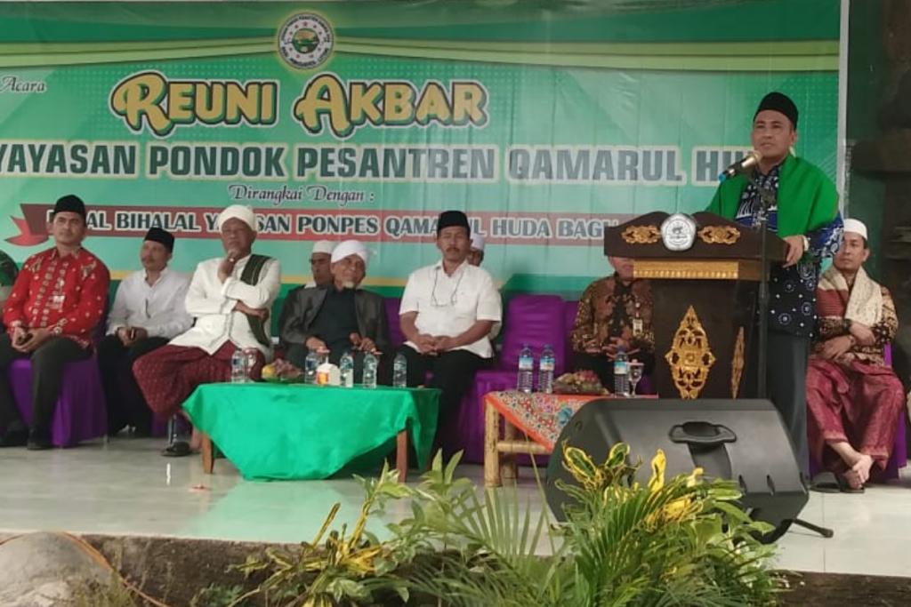 TGH. Ma'arif : Halal Bihalal Sumbangsih Besar Kiai Wahab Untuk Bangsa Indonesia