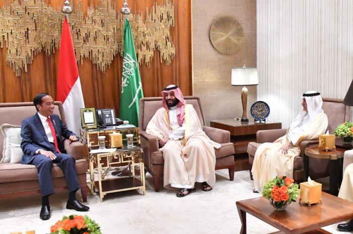 Putra Mahkota Saudi: Indonesia Beruntung Miliki Pemimpin yang Jelas dan Maju