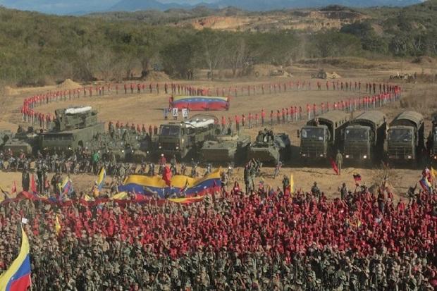 Venezuela Instruksikan Latihan Militer Terbesar Sepanjang Sejarah