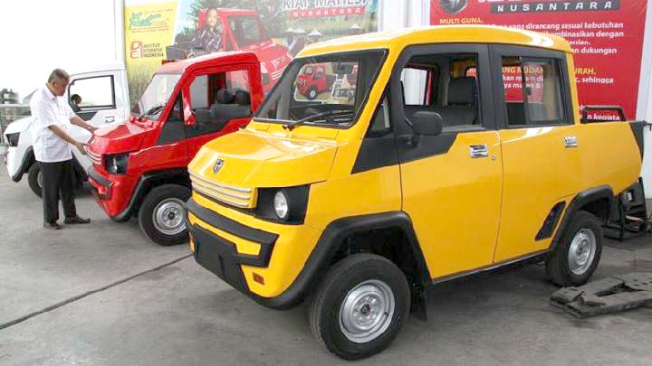 Mobil Pedesaan Akan Dijual Rp 70 Juta
