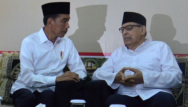 Presiden Jokowi Bicarakan Moderasi Islam dengan Quraish Shihab