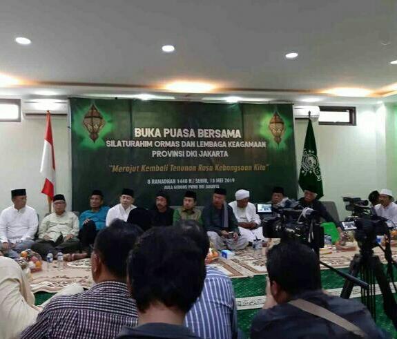 Jaga Kedamaian, Ormas Keagamaan di Jakarta Sepakati 5 Komitmen Ini