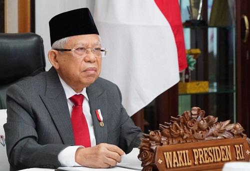 Wapres RI Berharap Indonesia Jadi Pemain dalam Persaingan Industri Halal Global