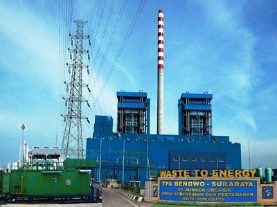 Pertama di Indonesia, Surabaya Bangun Pembangkit Listrik Tenaga Sampah (PLTSa)