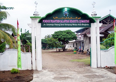 Pesantren Hidayatul Qomariyah Bengkulu