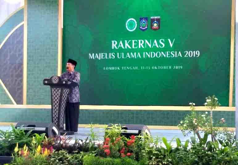 Rakernas MUI 2019 Putuskan KH. Ma'ruf Amin Tetap Ketua MUI