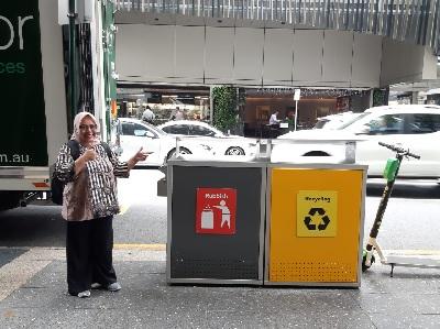 Direktur BSN LPBINU Ajak Manfaatkan Sampah APK Jadi Tas Ramah Lingkungan