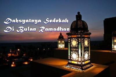 Berlomba Sedekah di Bulan Ramadan.
